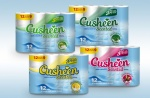 Rolls of Cusheen Toilet Tissues