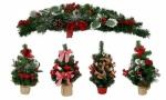 Mini Xmas Centerpieces