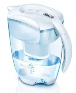 Brita Elemaris Meter XL White Water Filter Jug + 3 Cartridges