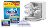 Finish 250ml Dishwasher Cleaner + All In One Deep Clean 100'S