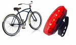 Rolson Front and Rear USB Bike Light - Multi-Colour