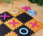 Giant Noughts and Crosses Garden Game