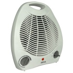 Jocca Small White Fan Heater 2843