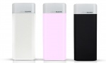 Li-Polymer PowerBank Leather Look 6000Mah Assorted