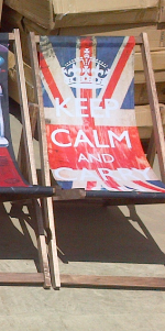 Best of British Printed Garden Deckchair - Assorted Prints