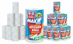 Little Duck Maxx Three-Ply Kitchen Towels 12 Rolls