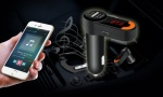 Bluetooth Car Charger with FM transmitter