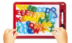 Elf Wipe board with magnetic letters
