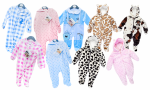 Pitter Patter Baby Onesie/ Sleepsuit/ Snowsuit