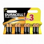 Duracell Plus Power AA Batteries - Pack of 8
