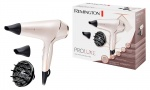 Remington ProLuxe Hair Dryer AC 2400W with Diffuser Frizz Free - Rose Gold