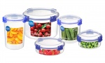 Sistema KLIP IT Round Food Storage Containers
