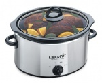 Crock-Pot 3.5 Litre Polished Stainless Steel Slow Cooker - Chrome