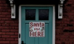 Light Up Santa Stop Here