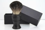 Hair Shaving Brush in Ebony Handle