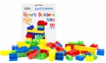 Let's Learn 50pcs Smart Builders - Mini