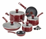 Tefal Poppy Excite Non- Stick 14Piece Set