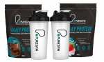 PureGym Whey Protein Powder and Shaker Bottle 908