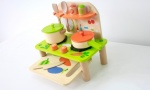 Doodle Wooden Kitchen Playset with Kitchen Accessories