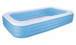 Bestway 10' x 6' x 22''/3.05m x 1.83m x 56cm Blue Rectangular Pool