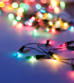 200 Multi-Coloured LED Indoor & Outdoor Christmas Lights