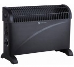 2kW Convector Heater- Black