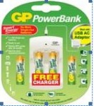 GP Power bank Batteries and Charger