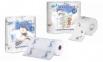 Nicky Snowman toilet tissue and kitchen towel
