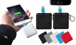 Square Keychain FX Power Bank  - 1200 Mah