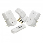 Remote Control Socket 3 Pack