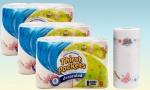 THIRST POCKET 24 ROLL PACK DECORATED KITCHEN TOWEL&nbsp;<br>