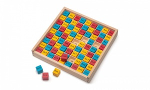 Tobar Wooden Times Table Board