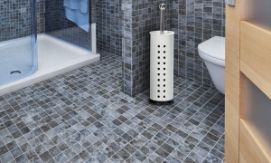 Harewood Toilet Brush and holder - choice of 3 finishes