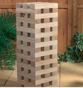 Set of 2 - Tumble Tower & Four In A Row
