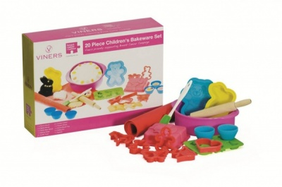 Viners 20 Piece Children's Silicone Bakeware Set
