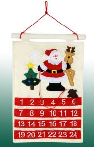 Hanging Cloth Calendar with Marker
